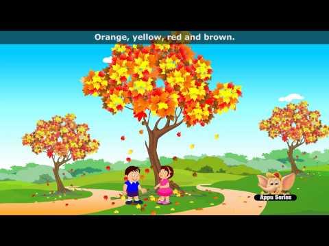 Falling Leaves - Nursery Rhyme with Lyrics