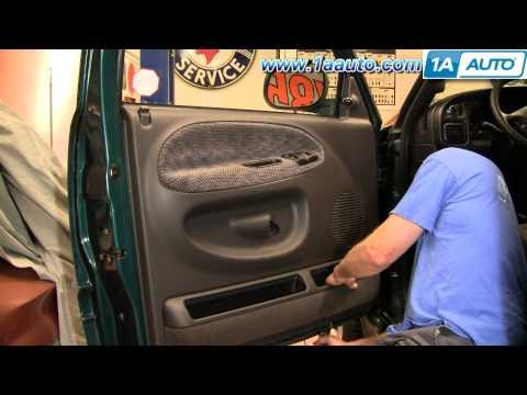 How To Install Replace A Door Panel Dodge Ram 94-01 1AAuto.com