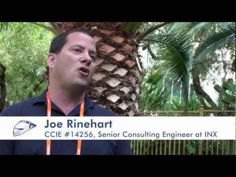 Interview with CCIE Joe Rinehart at Cisco Live