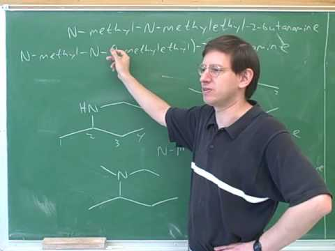 Organic chemistry: Introduction to amines (2)