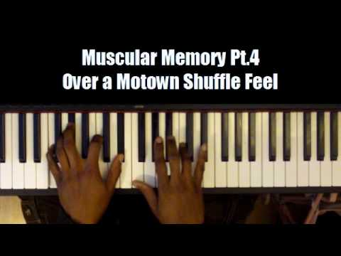 Muscular Memory Riffs and Licks 4 of 5 over a Motown Shuffle