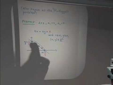 Bay Area Discrete Math Day XII: Integer Linear Programming