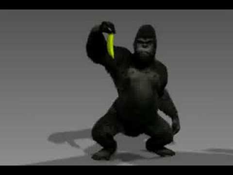 Gorilla animation test