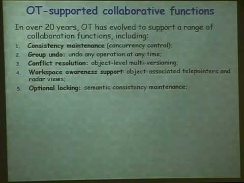 Issues and Experiences in Designing Real-time Collaborative Editing Systems