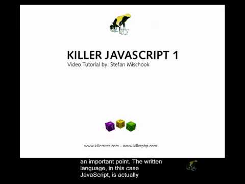 Beginner's Javascript Closed Captioned - What is a Programming Language?