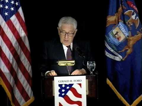 "Henry Kissinger ""Where Do We Go From Here?"" (1 of 6)"