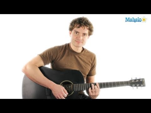 How to Play an A Sharp Chord (A#) On Guitar