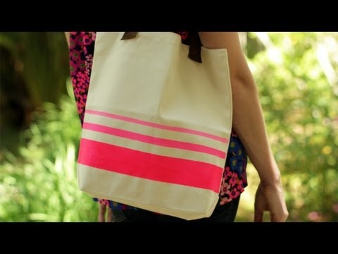Personalized DIY Store Bought Tote (How To Make Yourself) || Kin DIY