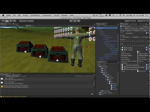 232  Unity3d Tutorial - Instantiating A Shield