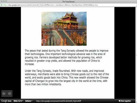 The Tang Dynasty Overview