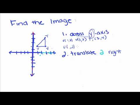 Geometry - 2 - Transformations Review and Graphing Transformations