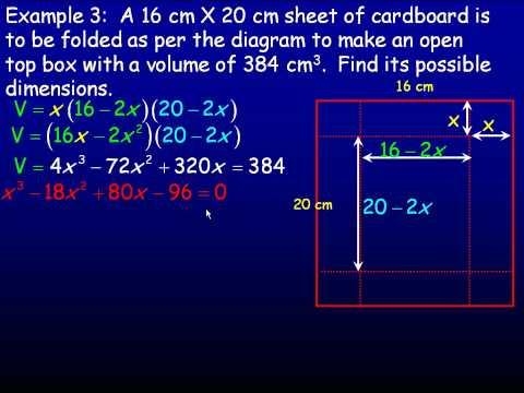 Polynomial Equations Part 2