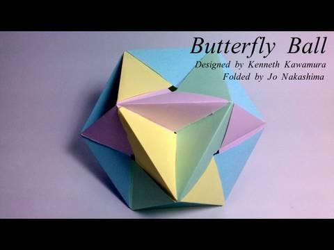 Origami Butterfly Ball (Kenneth Kawamura)