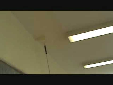 Painting a drywall ceiling patch: with an extension pole