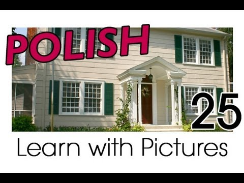 Learn Polish with Pictures - In the Home