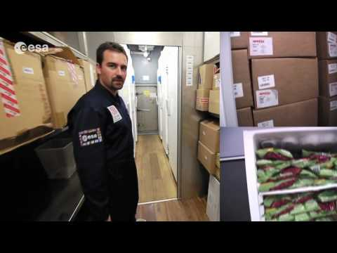 Mars500 video diary 6 - How supplies are rationed