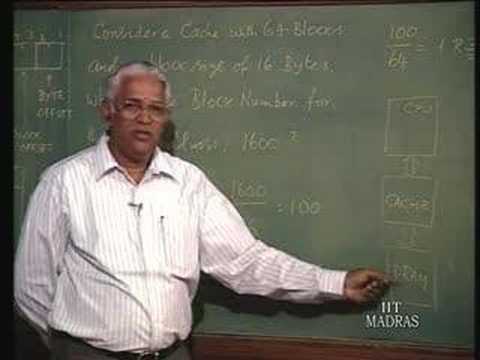 Lecture - 18 Cache Organization
