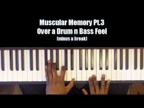 Muscular Memory Riffs and Licks 3 of 5 on a Drum n Bass Feel