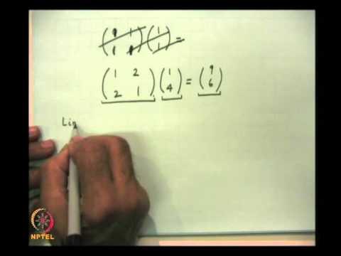 Mod-07 Lec-24 Dirac's Bra and Ket Algebra