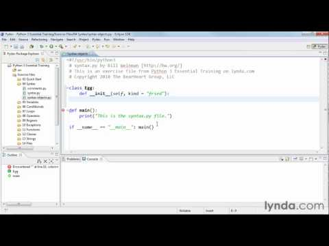 How to create and use objects in Python | lynda.com tutorial