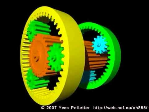 Simpson compound planetary gear set