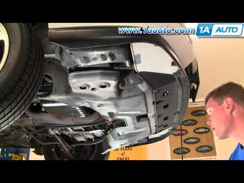 How To Install Replace Air Conditioning Condenser Cooling Fan Accord V6 2.7L 95-97 1AAuto.com