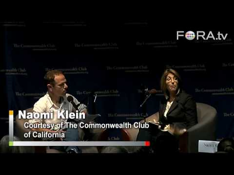 Naomi Klein - Obama and the Economic Crisis