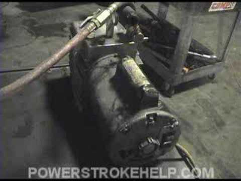 AC BASICS 3 OF 6  FORD POWERSTROKE DIESEL TRUCK