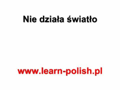 Basic Survival Polish Lessons. Lesson 26. Alternatieve Vakantie Polen