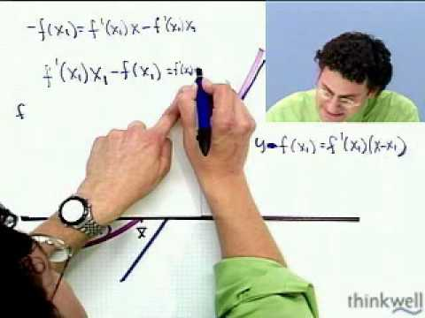 Newton's Method, Part 2 of 2, from Thinkwell's Video Calculus Course