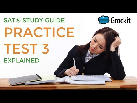Grockit Official SAT Study Guide pg. 553-555