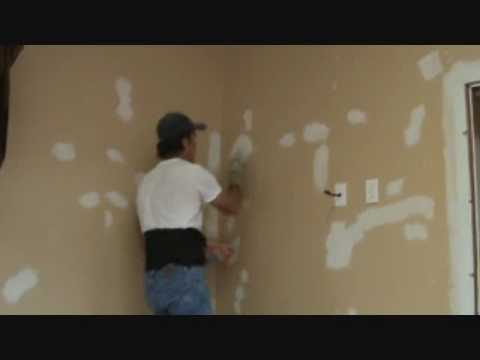 How to patch a hole in a sheetrock wall