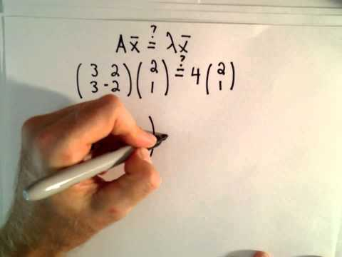 Introduction to Eigenvalues and Eigenvectors - Part 1