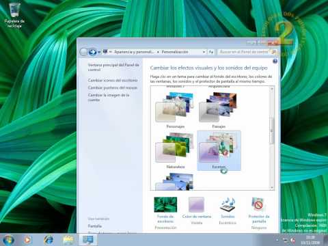 Windows 7 - El escritorio
