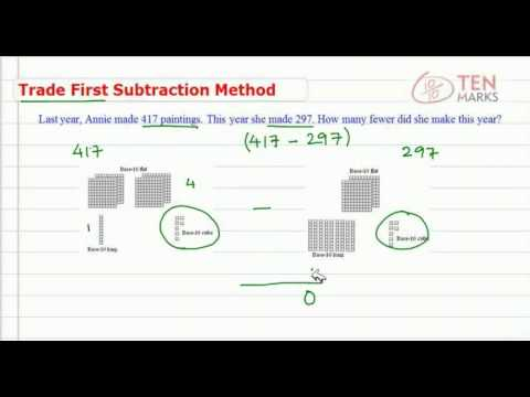 Trade First Subtraction Method