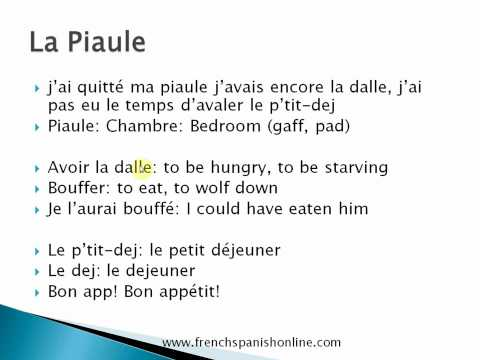 French Slang - Part 2