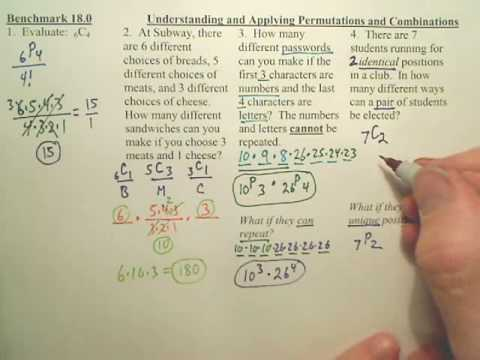 Benchmark 18 p2 - Algebra 2