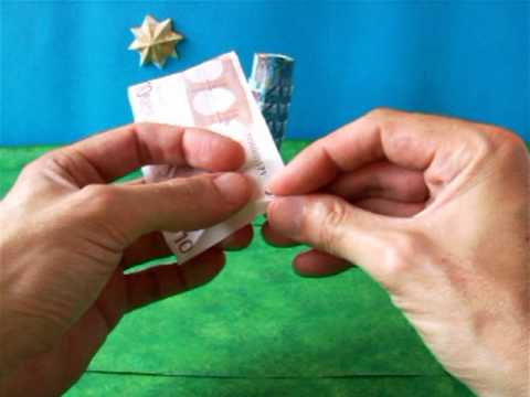 Origami Money Greek Building