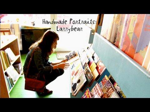 Handmade Portraits: Leslie Stein aka larrybear