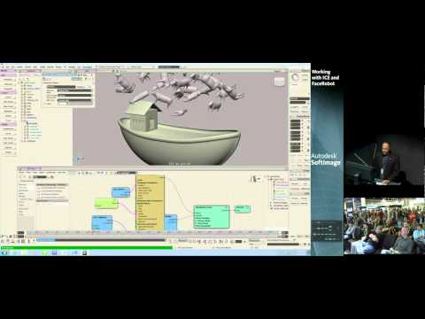 Working with Autodesk Softimage: ICE & Face Robot