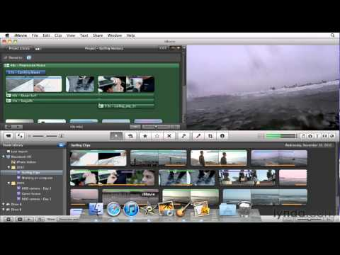 iMovie tutorial: Exporting to the Media Browser | lynda.com