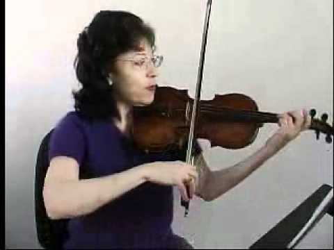 Violin Song Lesson - How To Play We Three Kings