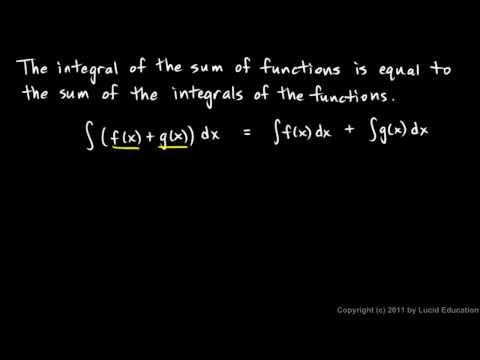 Calculus 5.2f - Properties of Integrals