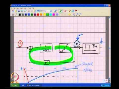 Mod-01 Lec-19 Delta-Sigma Modulation - 1
