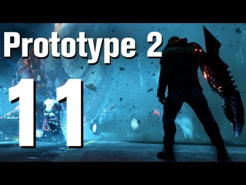 Prototype 2 Walkthrough Part 11 - Feeding Time [No Commentary / HD / Xbox 360]