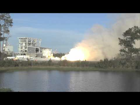 Rocket Engine for Commercial Space Vehicle Test Fired at Stennis