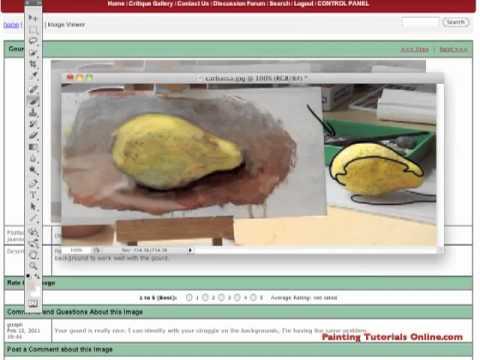 Painting Tutorials Online Video Critique