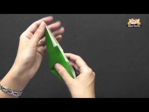 Origami - How to make a Leaf