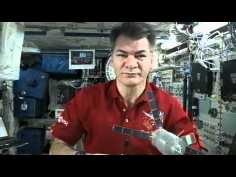 Paolo Holds News Conference from Space