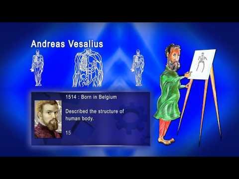 Top 100 Greatest Scientist in History For Kids(Preschool) -  ANDREAS VESALIUS